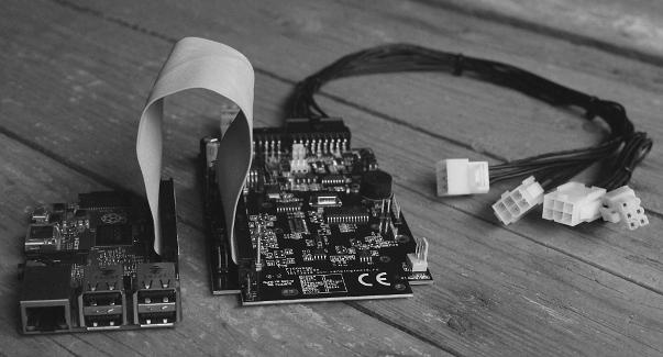 Raspberry Pi to MDB master, MDB slave and Executive vending interface